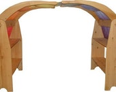 24 hour sale save 20.00. Shipping in time for Christmas Waldorf  Playstands Wooden toy  playstand , child, kids,natural play, pretend, home,