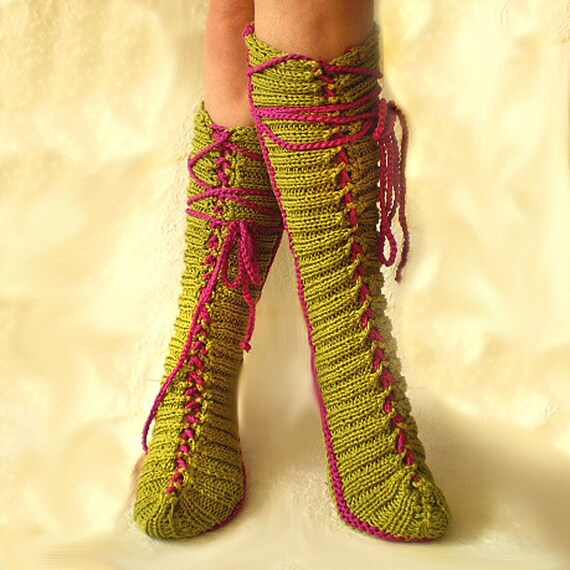 My Favourite Cotton Tube Slipper Socks
