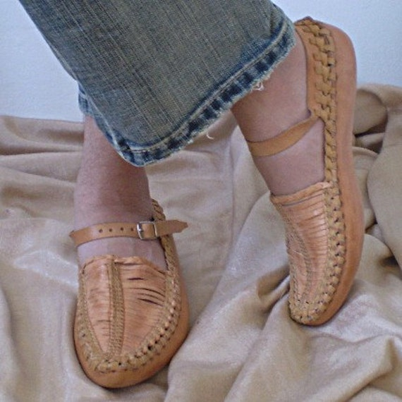 Traditional Leather Opanak Shoes Women S Size By