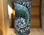 Vase Mosaic Recycled with a Fibonacci Wave