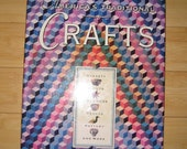 Crafts Book Vintage Really a Very Fabulous History of American crafts with wonderful Photos Great Histrical Information A beauty of a book
