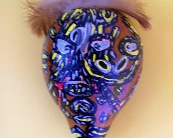 Native Gourd Mask 3rd Eye