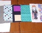 Personalized Patchwork Tea Towel Kit -- Blackberry Jam