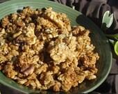 Delicious Hemp Walnut Granola - Half Pound - Organic - So Delicate