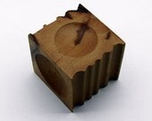 "2-1/2"" Wooden Dapping Block With Forming Channels"