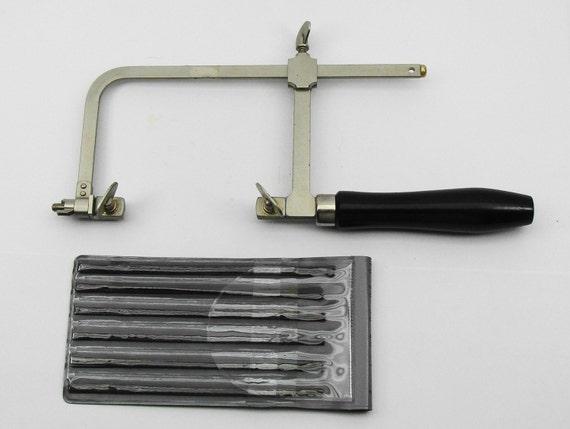Adjustable Jewelers Saw And Saw Blades