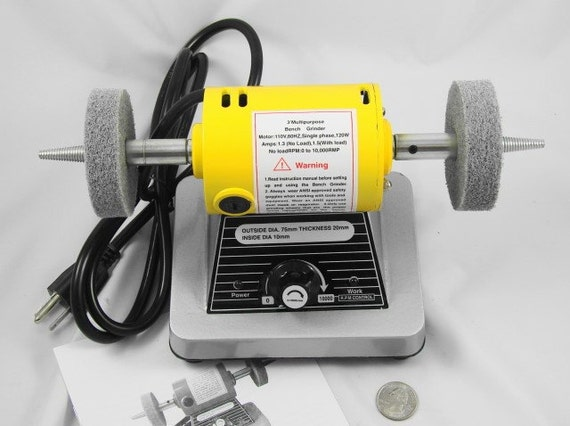 3 Inch Bench Polisher and Buffer