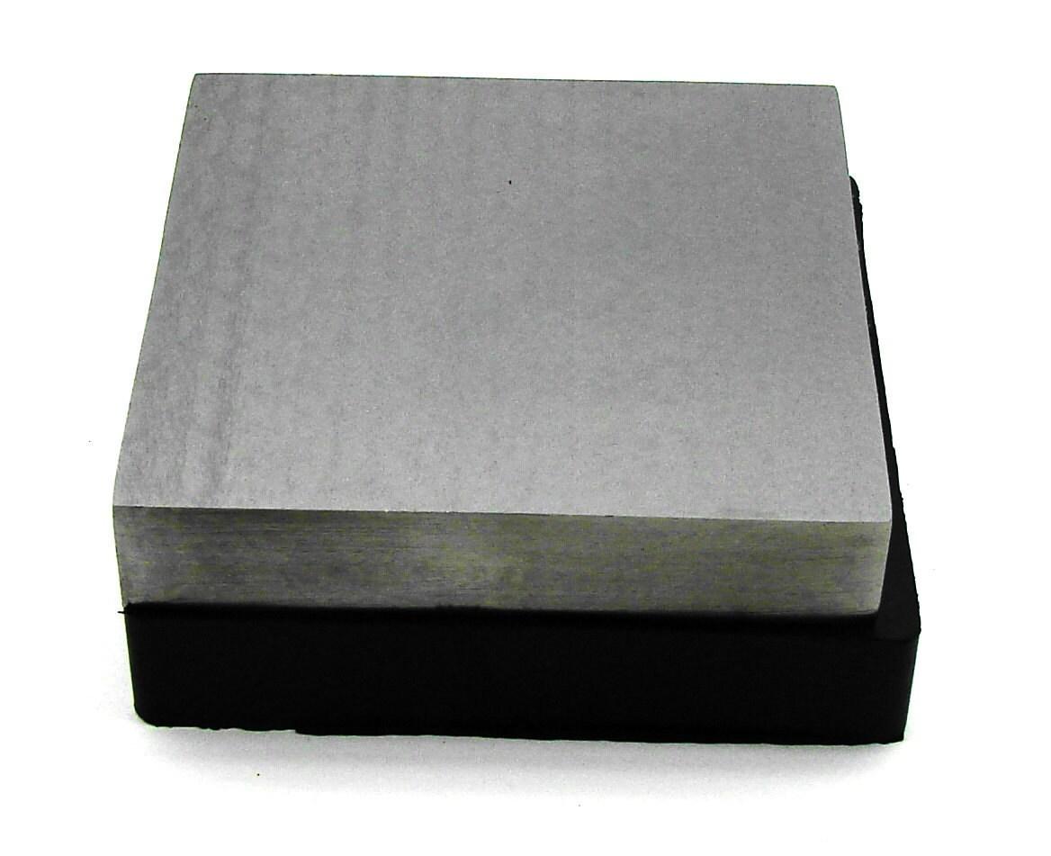 Steel Rubber Bench Block Set 4 X 4 X 3 4 Inch