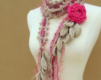 Queen Ann Rose Lariat-Pink nr 2