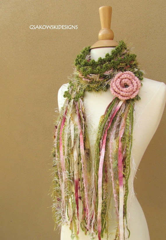 Gloria Scarf-Blush