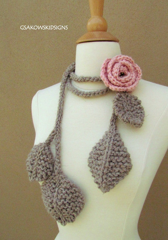 Tuscany Rose Lariat-Blush
