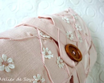 needle holder needle case knitting needle case interchangeable knitting needle case in pink