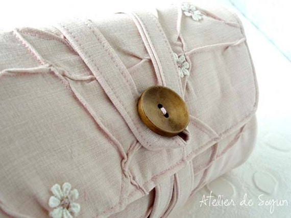 Circular Knitting Needle Storage Organizers : Circular knitting needle organizer holder case bag in textured