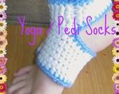 RESERVED Yoga Socks Crochet Pattern