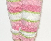 Pink, White And Green Striped Capri Pants For Blythe...One Pair Per Listing...