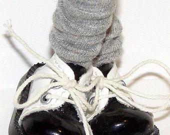 Short Gray Socks For Blythe...One Pair Per Listing...