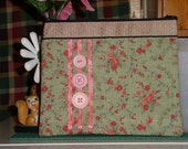 Pink and Green pouch