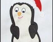 INSTANT DOWNLOAD Cute Penguin Applique designs 3 sizes