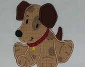 INSTANT DOWNLOAD Puppy Applique designs and Fill designs