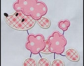 INSTANT DOWNLOAD Stick Poodle Applique designs