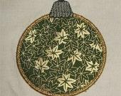 INSTANT DOWNLOAD Christmas Ornaments Applique designs
