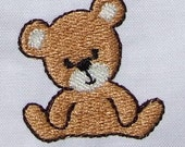 INSTANT DOWNLOAD Mini Teddy Bear embroidery designs