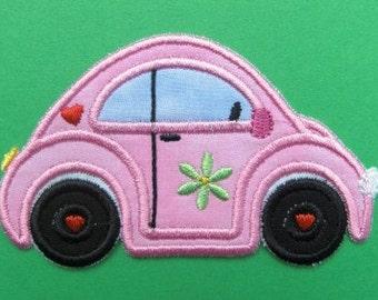 INSTANT DOWNLOAD Love Bug Car Applique designs