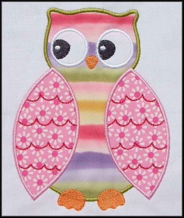 Applique Pictures Of Owls 51
