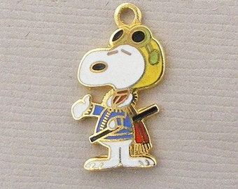 Aviva Vintage Snoopy Flying Ace Charm 0032