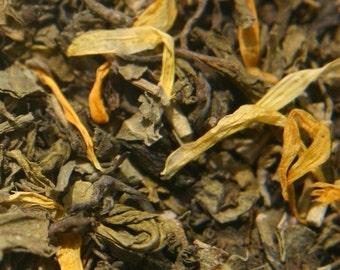Mango Green Decaffeinated Tea - ORGANIC 4 oz.