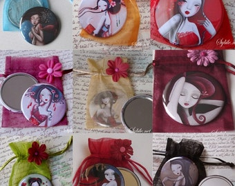 10 pocket mirrors (buy 7 get 3 free)