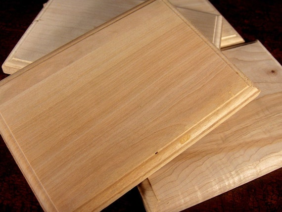 10 Unfinished Wood Plaques
