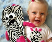 ZANY BABY Gift Set -Zarkle Burp Cloth and Zany Baby Suit