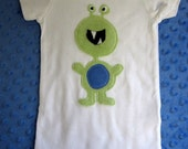 RODNEY MONSTER  zany baby suit  - bodysuit or toddler t-shirt