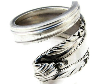 Stradivari Sterling Silver Spoon Ring Size 6 - 13 Wallace