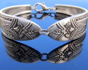 Silver Spoon Bracelet La Ronnie Pattern Silverware From 1945
