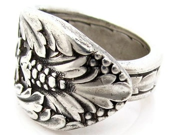 Spoon Ring Rare Marquise Choose Your Size