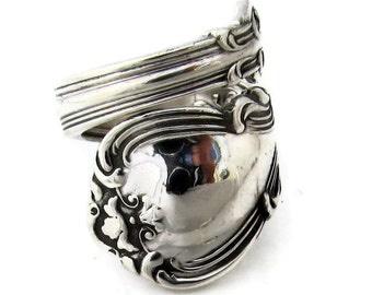 Sterling Silver Size 6 to 15 Spoon Ring Chantilly