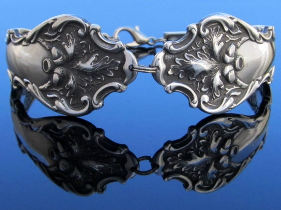 Spoon Bracelet (Large) Charter Oak 1906 Art Nouveau