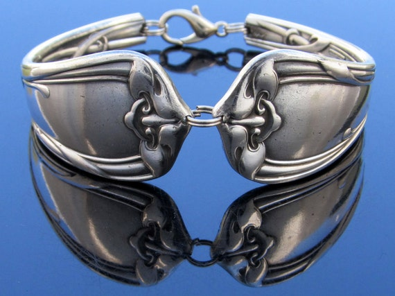 Spoon Bracelet (Small) Modern art Reed And Barton Art Nouveau Orchid 1904