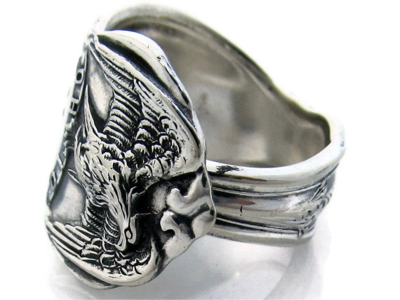 Spoon Ring Size 8 Souvenir Ohio.