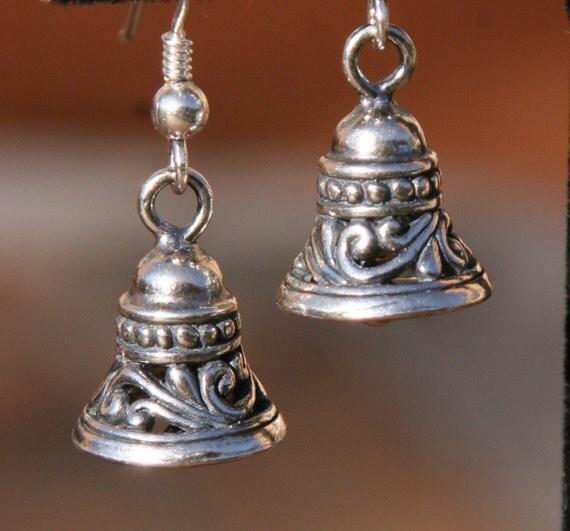 Sterling Silver Bali Bells Christmas Wedding Chime DeSIGNeR
