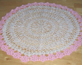 Floral Wheel Doily