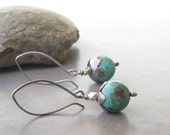 rustic turquoise dangles