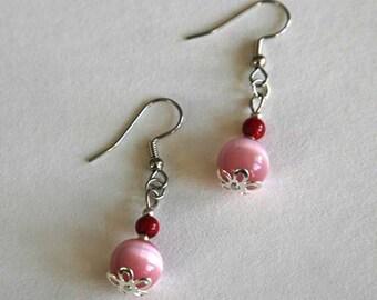 floral summer earrings