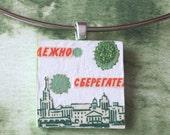 Russian City pendant