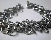 Silver Shaggy Loops Bracelet