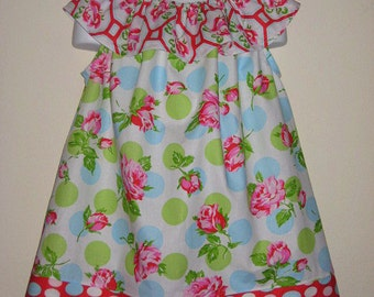 Sugar Hill Ruffle Top Pillowcase Dress, Size 3T, RTS