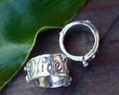 "OVERSTOCK SALE ""Nice Matters"" Sterling silver SlideTHREE"