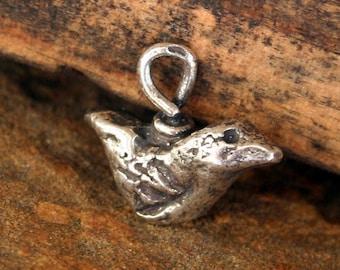 Little Birdie Sterling Silver Organic 001 /CH17